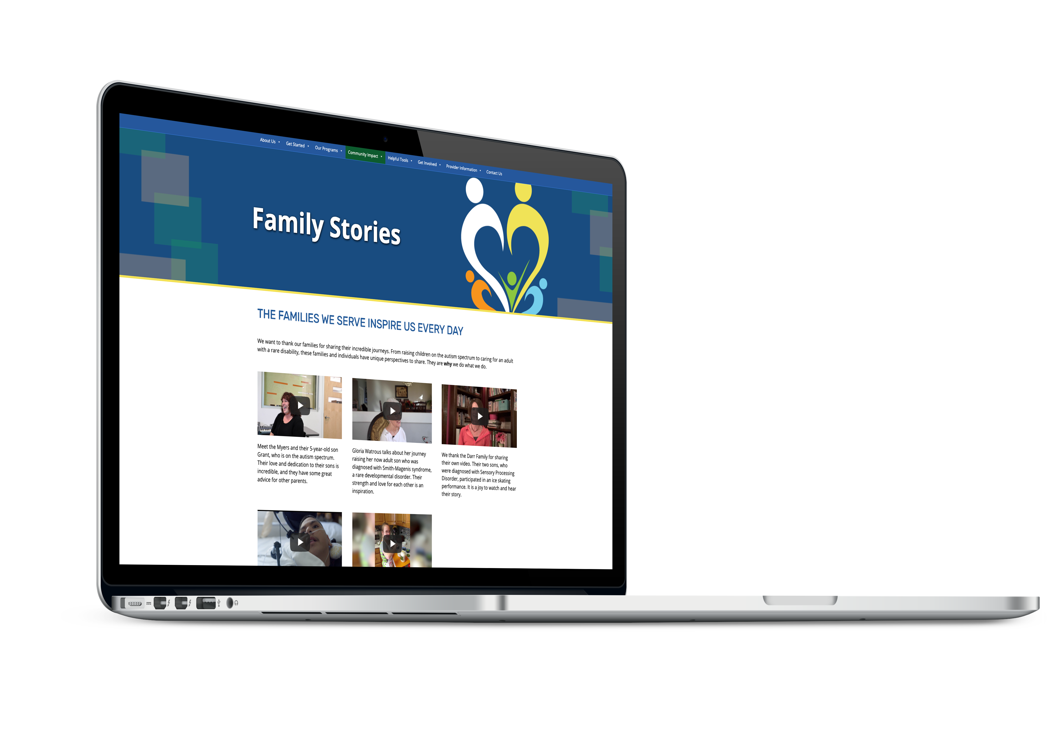 Family Stories page link